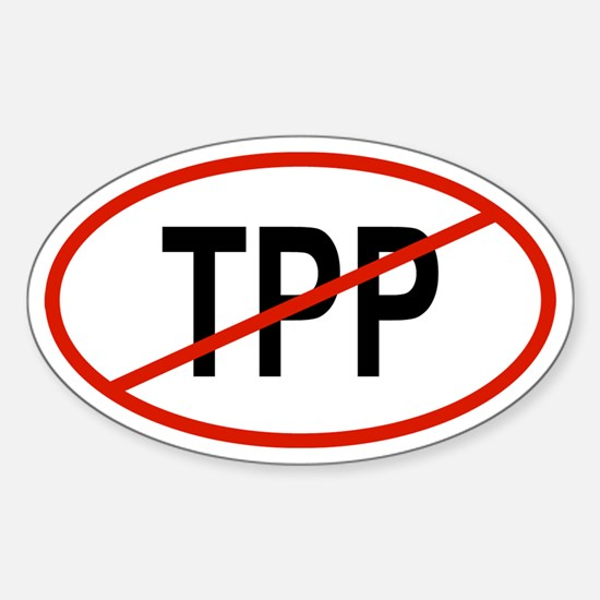 TPP Oval Decal