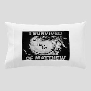 Survived Hurricane Matthew & Name Matthew Pillow C