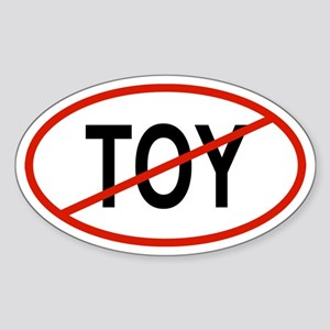 TOY Oval Sticker