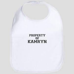 Property of KAMRYN Bib