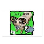 I'm an Aries Postcards (Package of 8)