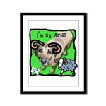 I'm an Aries Framed Panel Print