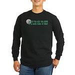 Moon Ribs Long Sleeve Dark T-Shirt