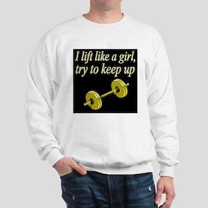 MUSCLE GIRL Sweatshirt
