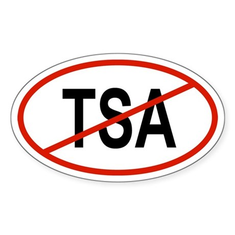 TSA Oval Sticker