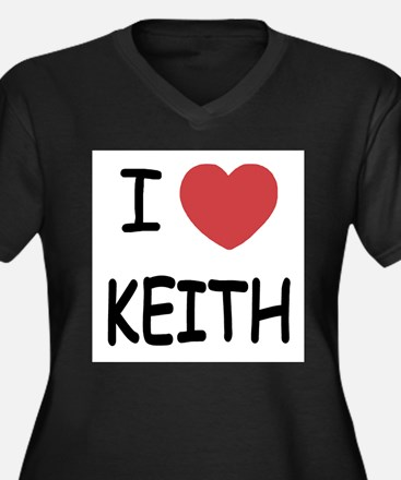 I heart KEITH Plus Size T-Shirt