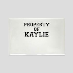 Property of KAYLIE Magnets