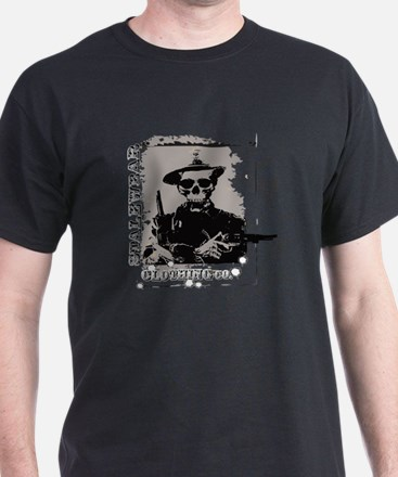 Old West Skull and revolvers T-Shirt