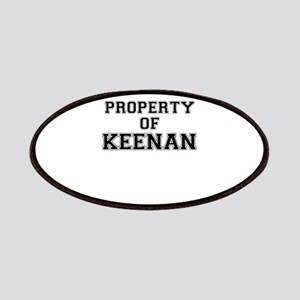 Property of KEENAN Patch