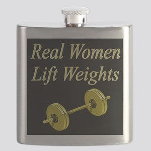 MUSCLE GIRL Flask