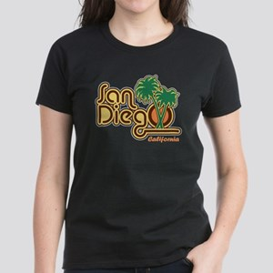 San Diego CA Women's Dark T-Shirt