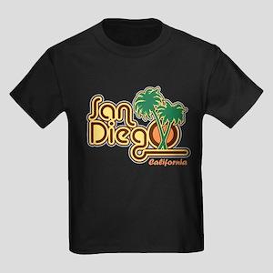 San Diego CA Kids Dark T-Shirt