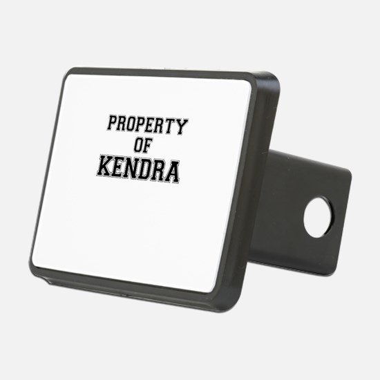 Property of KENDRA Hitch Cover