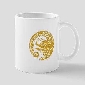 Circle of Nichiren Buddhism dragon Mugs