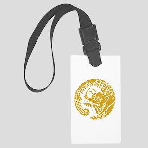 Circle of Nichiren Buddhism dragon Luggage Tag