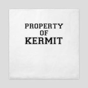 Property of KERMIT Queen Duvet