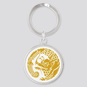 Circle of Nichiren Buddhism dragon Keychains