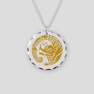 Circle of Nichiren Buddhism dragon Necklace