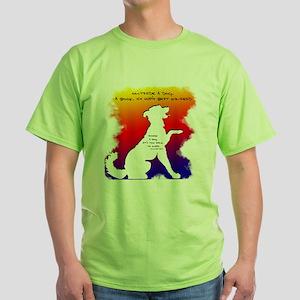 Too Dark to Read Rainbow T-Shirt