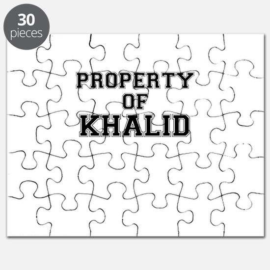 Property of KHALID Puzzle