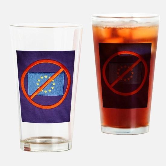 Anti European Union Drinking Glass