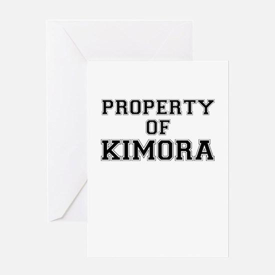 Property of KIMORA Greeting Cards