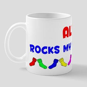 Alva Rocks Socks (A) Mug