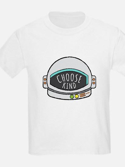 Choose Kind Helmet Shirt T-Shirt