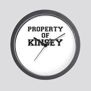 Property of KINSEY Wall Clock