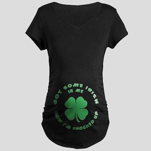 Irish Maternity Maternity Dark T-Shirt
