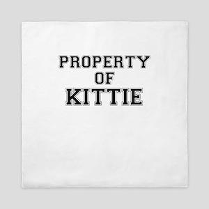 Property of KITTIE Queen Duvet
