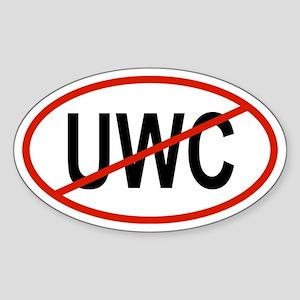 UWC Oval Sticker