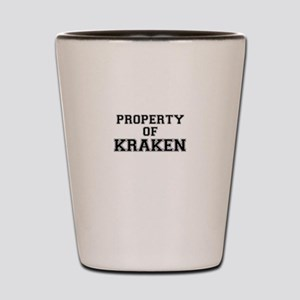 Property of KRAKEN Shot Glass