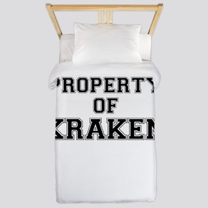 Property of KRAKEN Twin Duvet