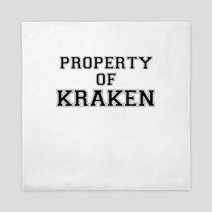 Property of KRAKEN Queen Duvet