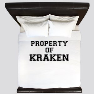 Property of KRAKEN King Duvet