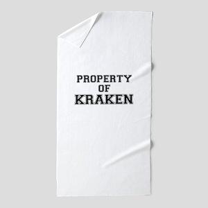 Property of KRAKEN Beach Towel