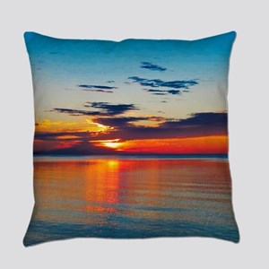 Evening Sunset Everyday Pillow