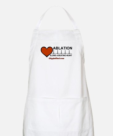Ablation Slows Beating HeartT BBQ Apron