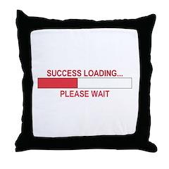 SUCCESS LOADING... Throw Pillow