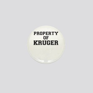 Property of KRUGER Mini Button