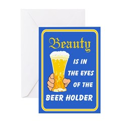 Beauty-Beer - Birthday Card