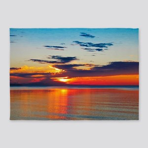Evening Sunset 5'x7'Area Rug
