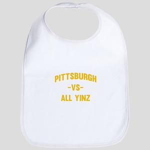 Pittsburgh Vs Yinz Bib