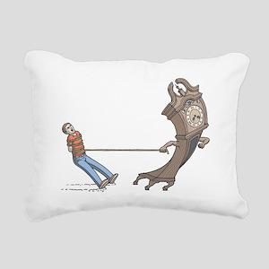Time Rectangular Canvas Pillow