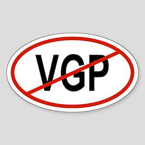 VGP Oval Sticker