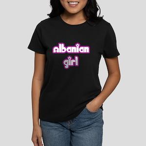Albanian Girl Women's Dark T-Shirt