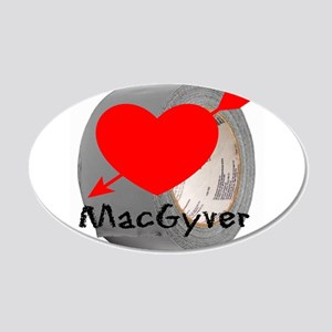 MacGyver Wall Decal