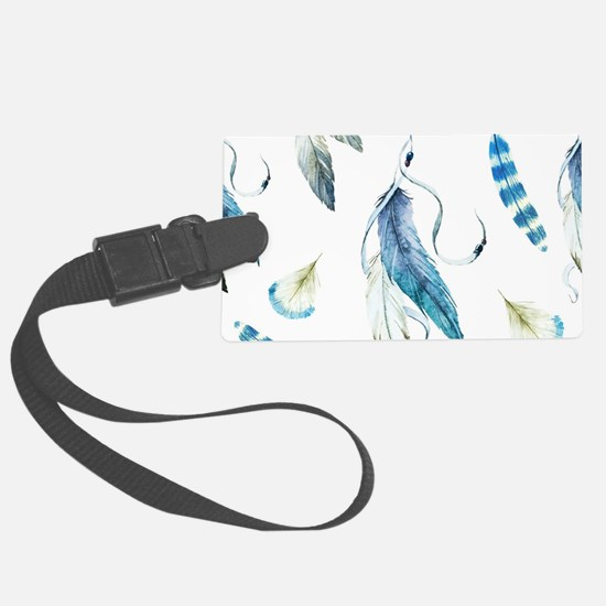 Dreamcatcher Feathers Luggage Tag