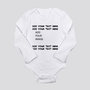 Custom Text and Image Body Suit